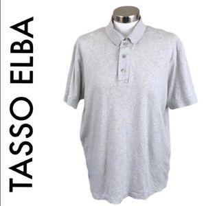 TASSO ELBA GRAY MENS SHIRT SIZE LARGE